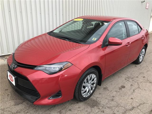 2017 Toyota Corolla CE (Stk: X4522A) in Charlottetown - Image 1 of 16