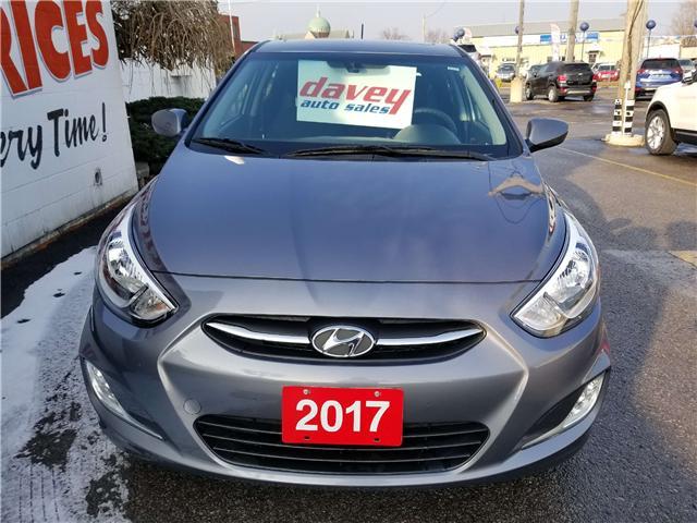 2017 Hyundai Accent GLS (Stk: 18-586) in Oshawa - Image 2 of 18
