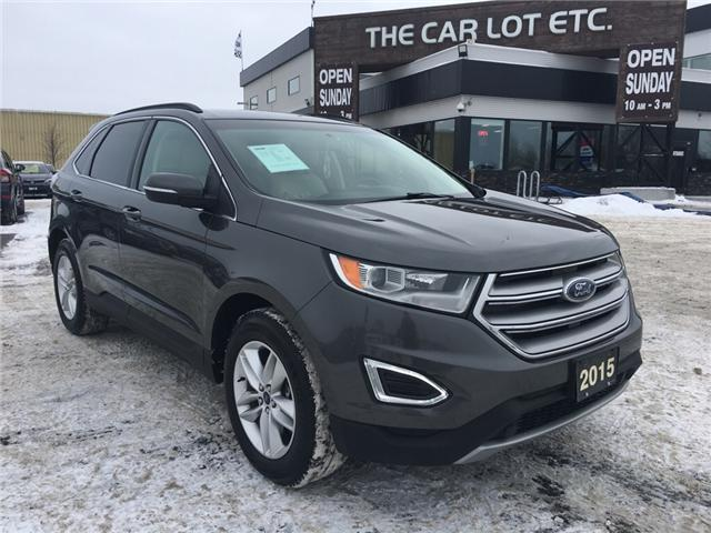2015 Ford Edge SEL (Stk: 18694) in Sudbury - Image 1 of 14