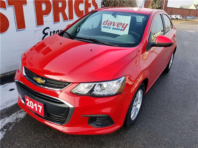 2017 Chevrolet Sonic LT Auto (Stk: 18-632) in Oshawa - Image 1 of 15