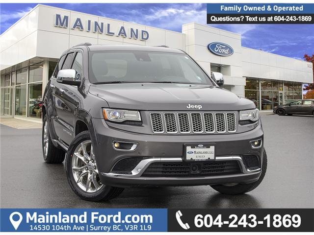 2014 Jeep Grand Cherokee Summit (Stk: P6207) in Surrey - Image 1 of 29