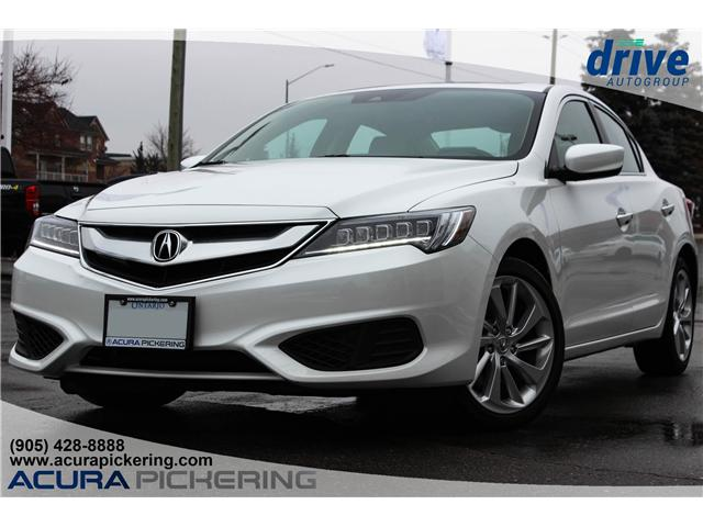 2018 Acura ILX Premium 19UDE2F7XJA800031 AS186CC in Pickering