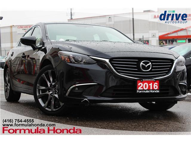 2016 Mazda 6 GT (Stk: B10609A) in Scarborough - Image 1 of 26