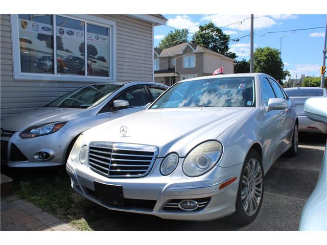 2008 Mercedes-Benz E-Class Base (Stk: A187) in Ottawa - Image 1 of 5