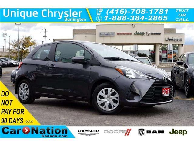 2018 Toyota Yaris CE| LANE KEEP ASSIST| HTD SEATS| REAR CAM & MORE (Stk: P3098) in Burlington - Image 1 of 30
