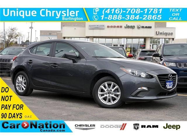 2015 Mazda Mazda3 Sport GS| REAR CAM| BLUETOOTH & MORE| 1-OWNER (Stk: P3123) in Burlington - Image 1 of 30