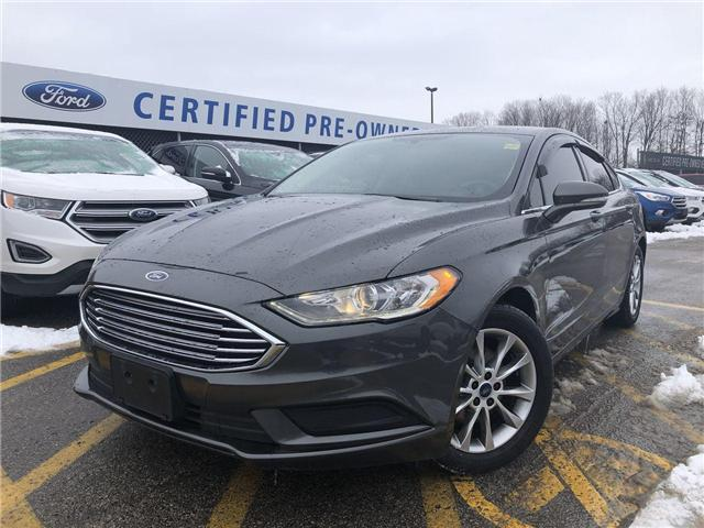 2017 Ford Fusion SE (Stk: ES181040A) in Barrie - Image 1 of 25