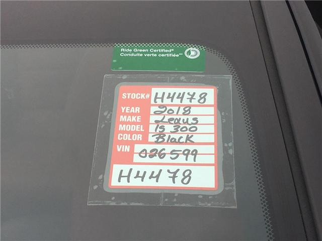 2018 Lexus IS 300 Base (Stk: H4478) in Toronto - Image 28 of 30