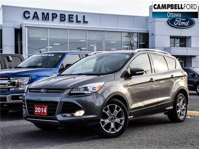 2014 Ford Escape Titanium AWD-LOADED-TOP OF LINE (Stk: 942840) in Ottawa - Image 1 of 28