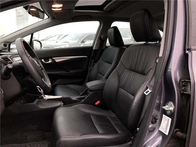 2015 Honda Civic Touring (Stk: 66925) in Mississauga - Image 2 of 5