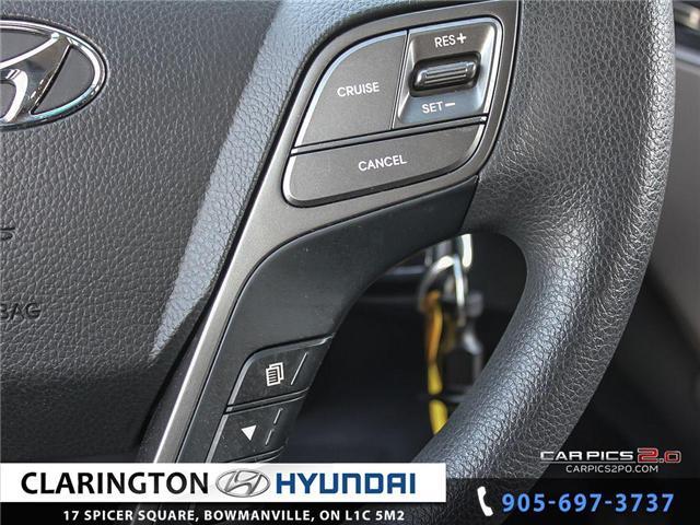 2017 Hyundai Santa Fe Sport 2.4 Base (Stk: 18890A) in Clarington - Image 11 of 27