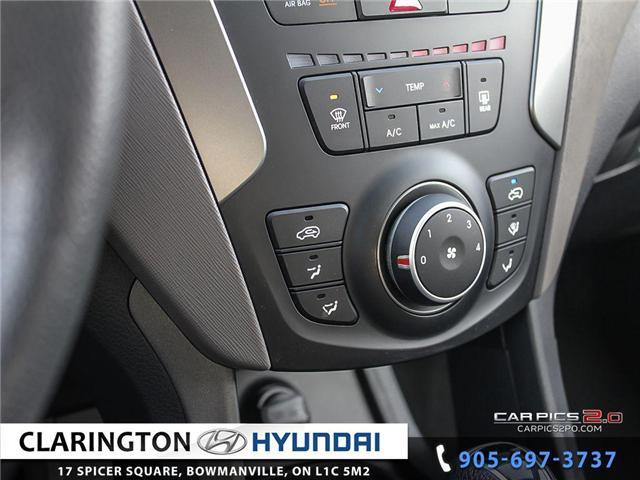 2017 Hyundai Santa Fe Sport 2.4 Base (Stk: 18890A) in Clarington - Image 14 of 27