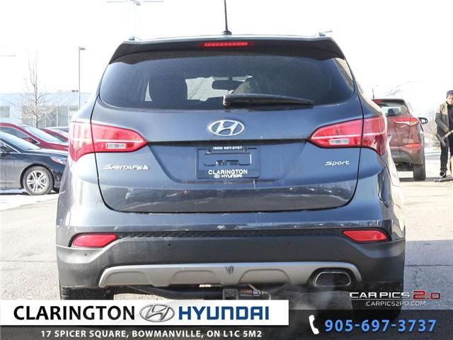 2016 Hyundai Santa Fe Sport 2.4 Premium (Stk: 18863A) in Clarington - Image 5 of 27