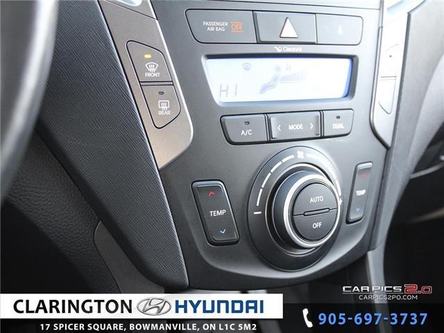 2016 Hyundai Santa Fe Sport 2.4 Premium (Stk: 18863A) in Clarington - Image 14 of 27