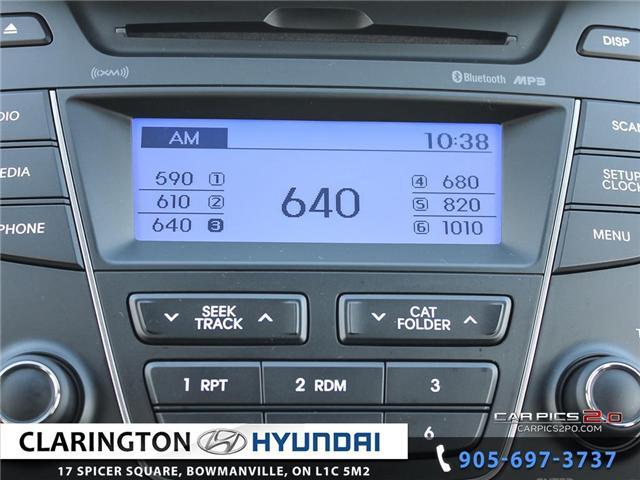 2016 Hyundai Santa Fe Sport 2.4 Premium (Stk: 18863A) in Clarington - Image 15 of 27