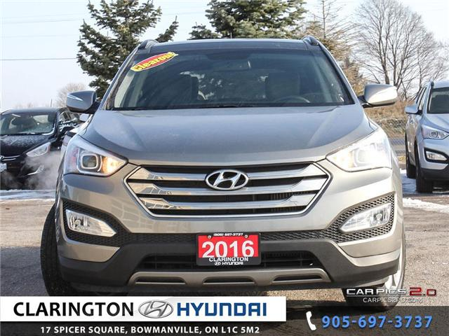 2016 Hyundai Santa Fe Sport 2.0T Limited (Stk: 18848A) in Clarington - Image 2 of 27