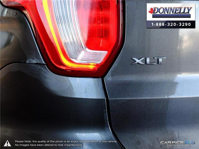 2018 Ford Explorer XLT (Stk: PLDUR5979) in Ottawa - Image 11 of 28