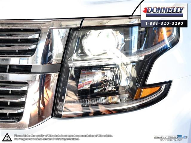 2018 Chevrolet Suburban Premier (Stk: PLDUR5980) in Ottawa - Image 10 of 28