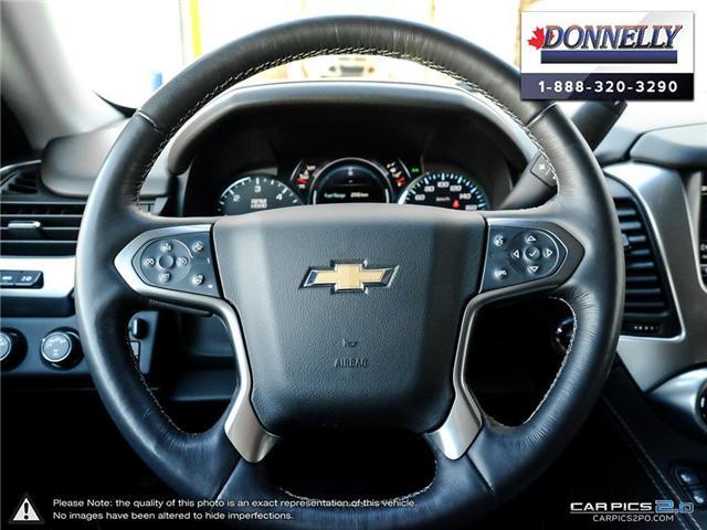 2018 Chevrolet Suburban Premier (Stk: PLDUR5980) in Ottawa - Image 14 of 28