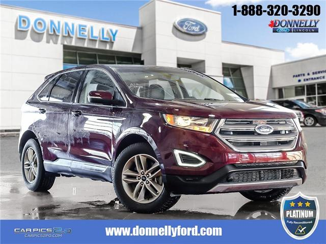 2017 Ford Edge SEL (Stk: PLDUR5972) in Ottawa - Image 1 of 28