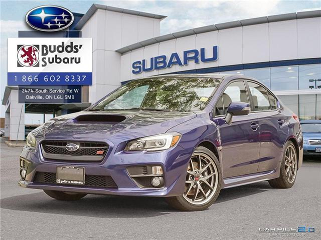 2016 Subaru WRX STI  (Stk: PS1996) in Oakville - Image 1 of 25