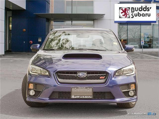 2016 Subaru WRX STI  (Stk: PS1996) in Oakville - Image 2 of 25