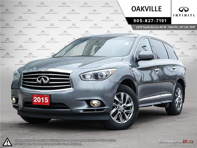 2015 Infiniti QX60 Base (Stk: Q18213A) in Oakville - Image 1 of 27