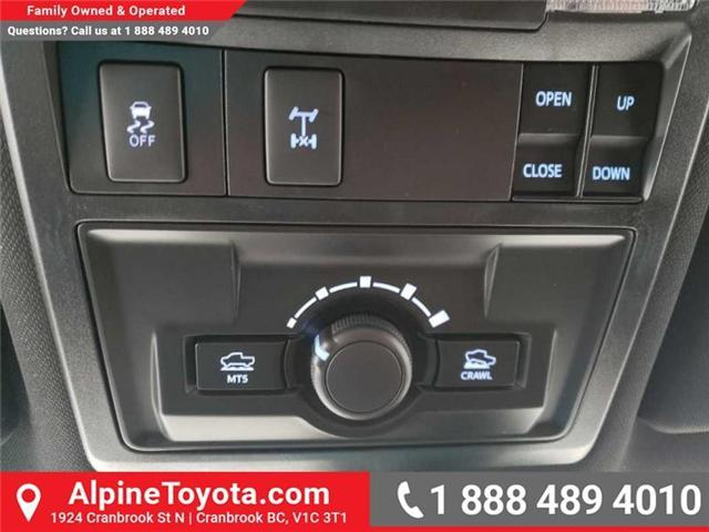 2019 Toyota Tacoma TRD Off Road (Stk: X172306) in Cranbrook - Image 15 of 19