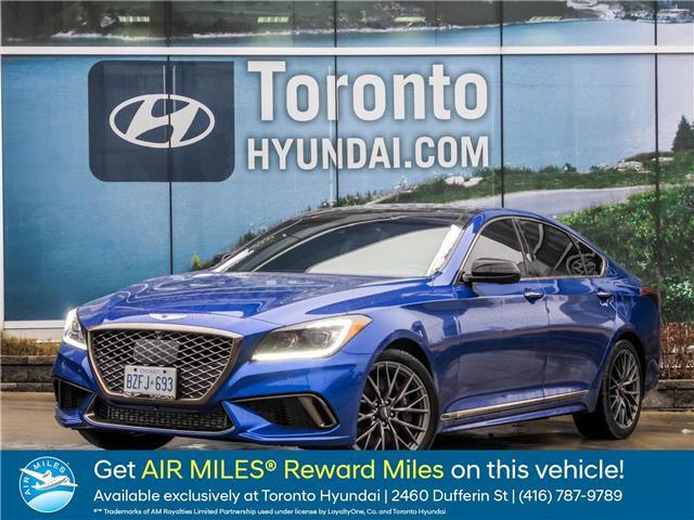 2018 Genesis G80 3.3T Sport (Stk: U06166) in Toronto - Image 1 of 25