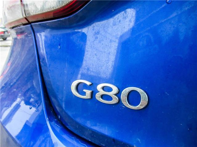 2018 Genesis G80 3.3T Sport (Stk: U06166) in Toronto - Image 17 of 25