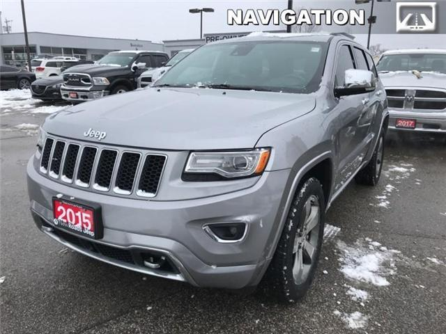 2015 Jeep Grand Cherokee Overland (Stk: 23779T) in Newmarket - Image 1 of 21