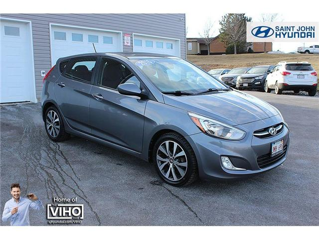 2015 Hyundai Accent SE (Stk: U2001) in Saint John - Image 1 of 19