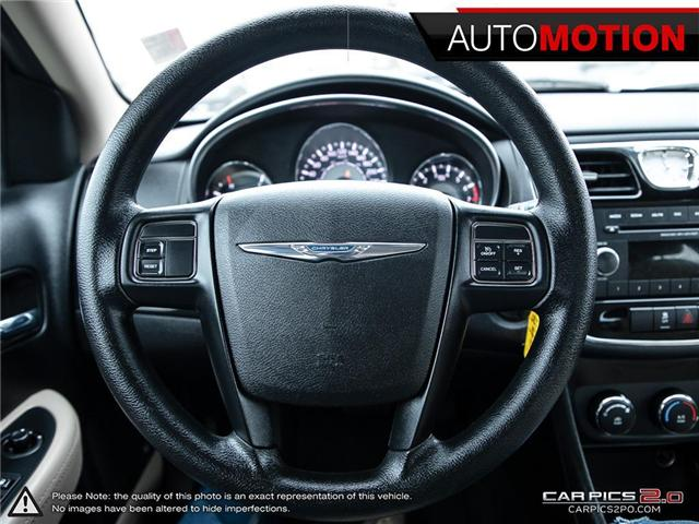 2013 Chrysler 200 LX (Stk: 18_1260) in Chatham - Image 14 of 27