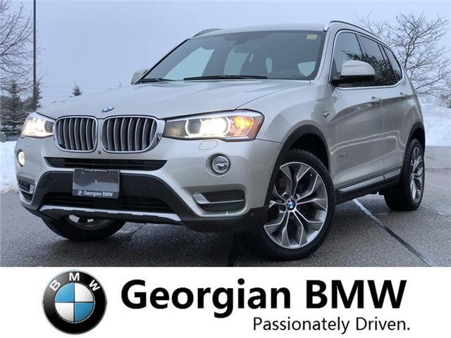2015 BMW X3 xDrive28i (Stk: P1398) in Barrie - Image 1 of 20