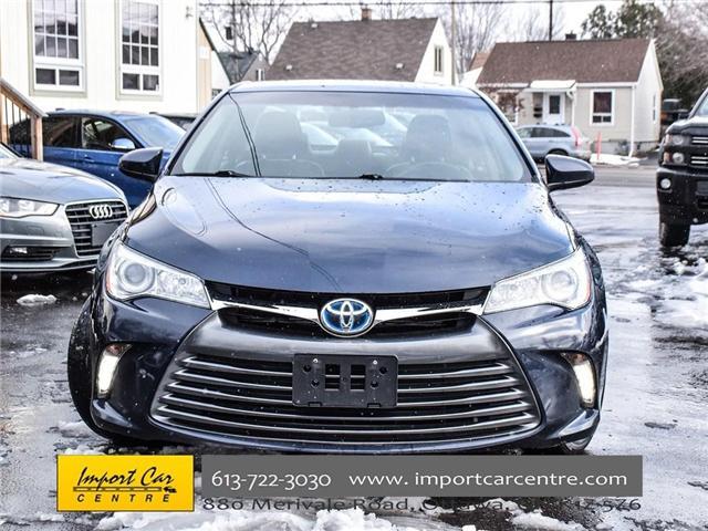 2015 Toyota Camry Hybrid XLE (Stk: 176702) in Ottawa - Image 2 of 24
