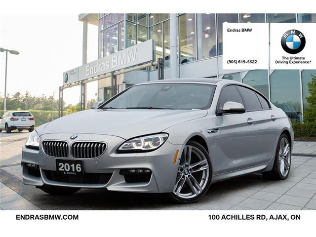 2016 BMW 650i xDrive Gran Coupe (Stk: 52378A) in Ajax - Image 1 of 22