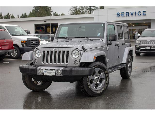 2017 Jeep Wrangler Unlimited Sahara (Stk: P4429) in Surrey - Image 3 of 27