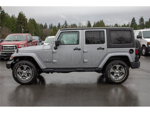 2017 Jeep Wrangler Unlimited Sahara (Stk: P4429) in Surrey - Image 4 of 27