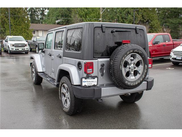 2017 Jeep Wrangler Unlimited Sahara (Stk: P4429) in Surrey - Image 5 of 27