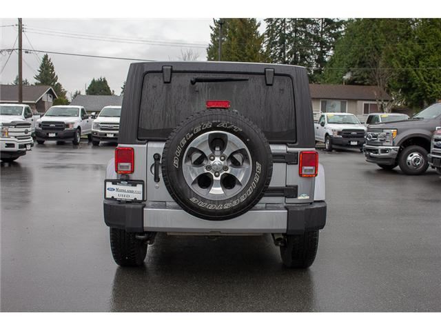 2017 Jeep Wrangler Unlimited Sahara (Stk: P4429) in Surrey - Image 6 of 27