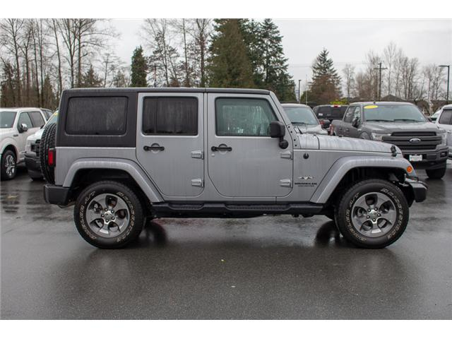2017 Jeep Wrangler Unlimited Sahara (Stk: P4429) in Surrey - Image 8 of 27