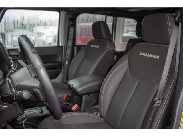 2017 Jeep Wrangler Unlimited Sahara (Stk: P4429) in Surrey - Image 11 of 27