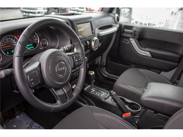 2017 Jeep Wrangler Unlimited Sahara (Stk: P4429) in Surrey - Image 12 of 27