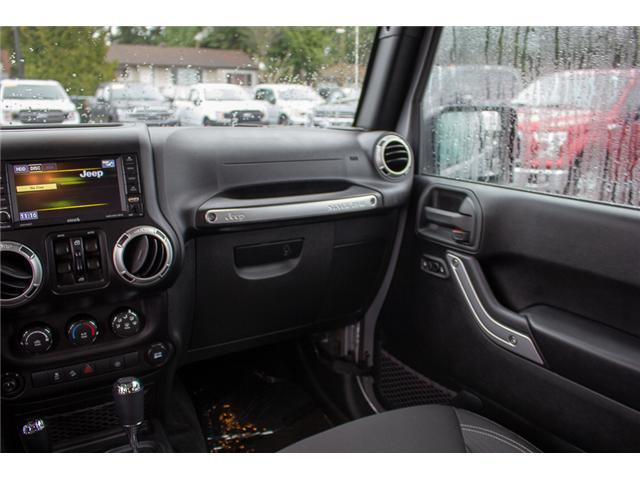 2017 Jeep Wrangler Unlimited Sahara (Stk: P4429) in Surrey - Image 15 of 27
