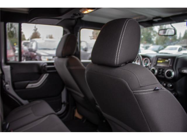 2017 Jeep Wrangler Unlimited Sahara (Stk: P4429) in Surrey - Image 16 of 27