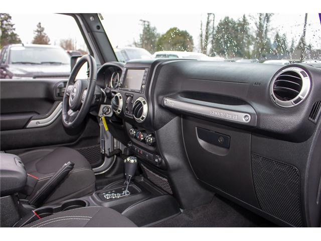 2017 Jeep Wrangler Unlimited Sahara (Stk: P4429) in Surrey - Image 17 of 27