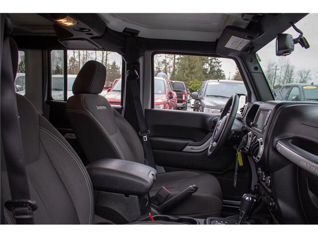 2017 Jeep Wrangler Unlimited Sahara (Stk: P4429) in Surrey - Image 18 of 27