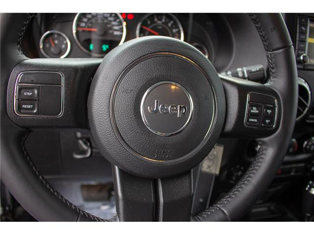 2017 Jeep Wrangler Unlimited Sahara (Stk: P4429) in Surrey - Image 20 of 27