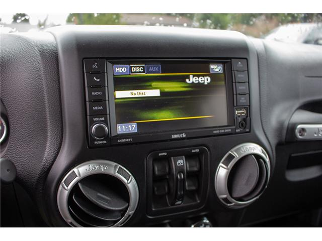 2017 Jeep Wrangler Unlimited Sahara (Stk: P4429) in Surrey - Image 22 of 27