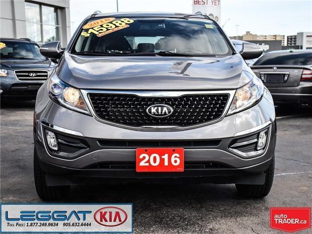 2016 Kia Sportage LX (Stk: 906012A) in Burlington - Image 2 of 20